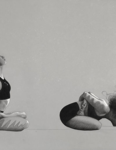 66 & 67 Baddha Padmāsana & Yoga Mudrā